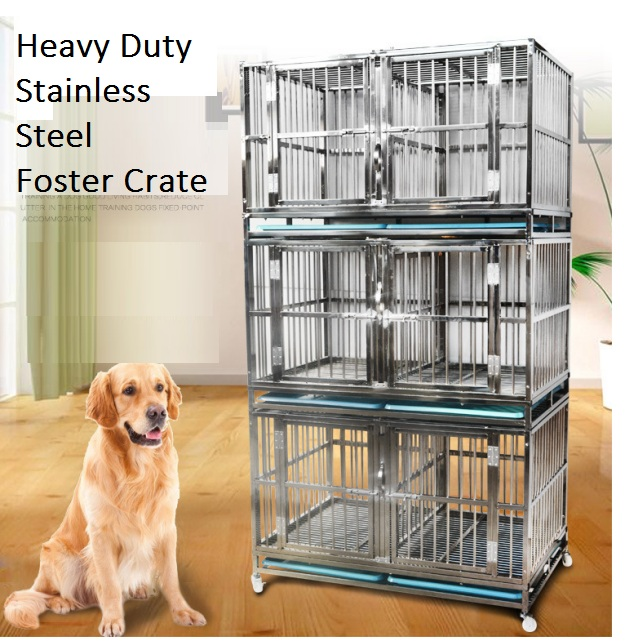 Foster cage for medium large dog  170109