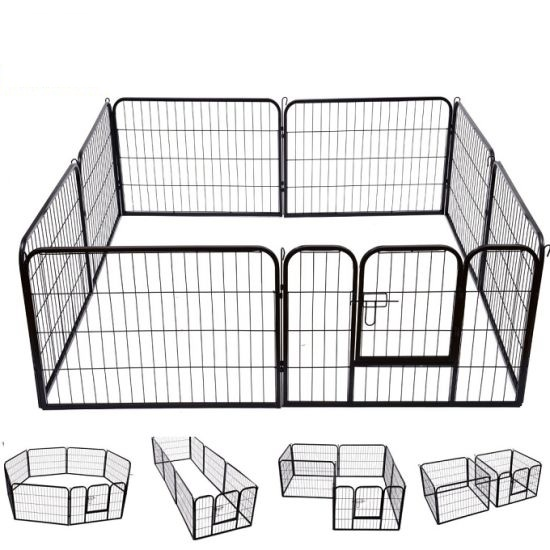 8-panel heavy duty playpen 175107
