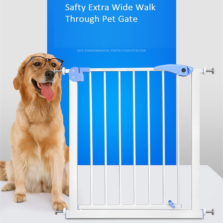 Safty Extra Wide Walk Through Pet Gate