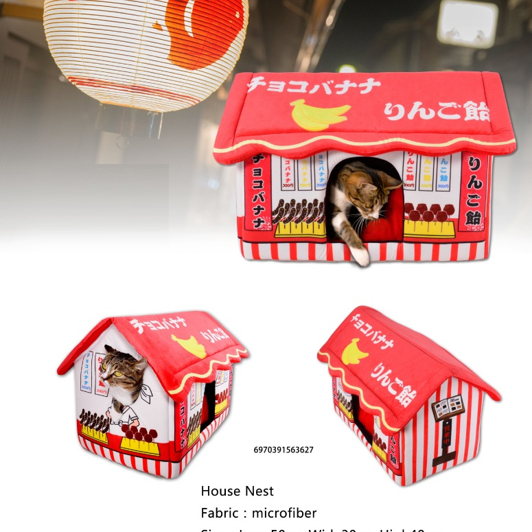 New Launched Japanese Style Cat House